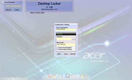Download Desktop Locker 1.60 Free